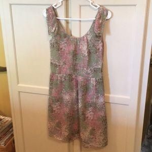 J.Crew Sleeveless Dress w/Shoulder Detail Size 00